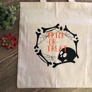 Handbags - Halloween candy bag | tote bag | trick or treat